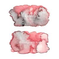 Abstrakt vattenfärg bakgrund. Akvarell element för kort. Vektor illustration.