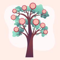 Stammbaum Vorlage Vektor