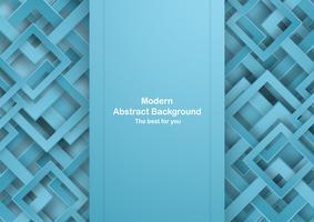 Abstrakter blauer Hintergrund mit Pastellfarbe. Vorlage für Business-Präsentation, Cover, Einladung, Plakat, Werbung, Banner. Neue Tendenz des Vektorillustrationsdesigns im Papierschnitt 3D. vektor