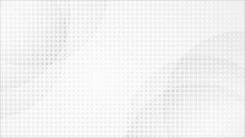 Weißer abstrakter Mosaikhintergrundvektor. Grau abstrakt. Hintergrund des modernen Designs für Berichts- und Projektpräsentationsschablone. Vektor-Illustration Grafik. Punktform. Produktwerbung vorhanden vektor