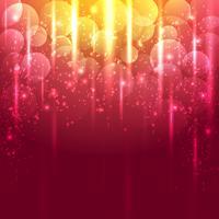Helles Gold und roter abstrakter Vektorhintergrund