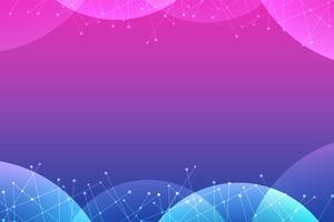 Blauer und rosafarbener abstrakter vektorhintergrund