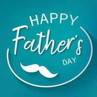 Glücklicher Vatertags-Grafikdesignhintergrund. Dekorations- und Feierkartenkonzept. Tapeten- und Papierkunstthema. Papa Tag und Urlaub Thema.