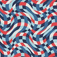 vintage nautiskt randigt mönster vektor