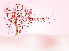 Happy Valentinstag Vektor Hintergrund
