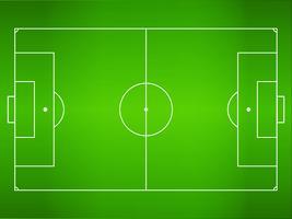 Grönt gräs Fotbollsplan, fotbollsplan