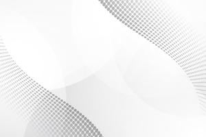 Vit abstrakt bakgrund vektor. Grå abstrakt. Modern design bakgrund för rapport och projekt presentation mall. Vektor illustration grafik. Prick och cirkelform. produktannonsering närvarande