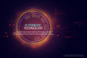 Abstrakter Technologiehintergrund.