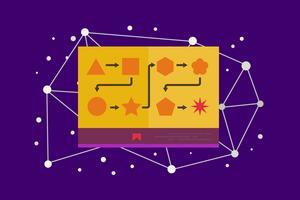 Geschichten erzählende Illustration vektor