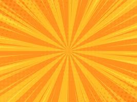 Tegneserie bakgrund Bomb tecknad stil med halvton konsistens vektor