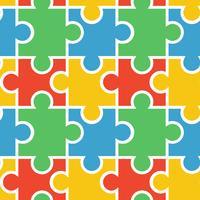 Puzzle nahtlose Hintergrund