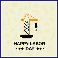 Labor Day Illustration für Ihr Projekt vektor