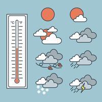 Wetter vektor