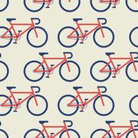 Cykel sömlös bakgrund vektor