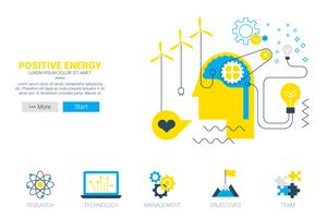 Positives Energiekonzept