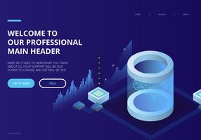 Artificiell intelligens UI Landing Page Theme