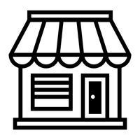Geschäftsschaufenster