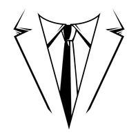 Geschäftsmann in der Klagenkopf-Vektorikone vektor
