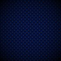 Abstrakt lyxig blå geometrisk kvadrater mönsterdesign med gyllene prickar på mörk bakgrund. vektor