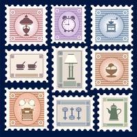 Retro Briefmarken