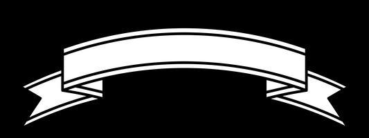 Banner vektorikonen