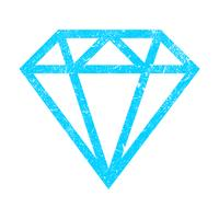 Diamant-Vektor-Logo