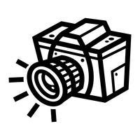 Fotografie-Kamera-Vektor-Symbol
