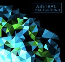 abstrakt geometrisk vektor