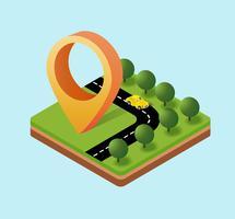 Navigationssymbol vektor