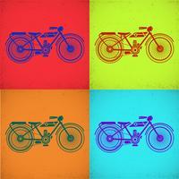 Motorcykelbild vektor