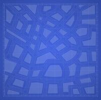 blå utskrift plan