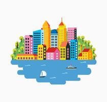 City infographics vektor