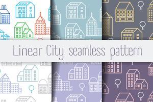 City Line sömlös vektor