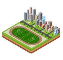 Stadstadion vektor