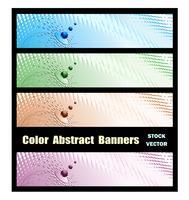 Abstrakta banderoller vektor
