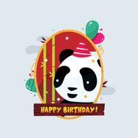 Alles Gute zum Geburtstag Tiere Vektor