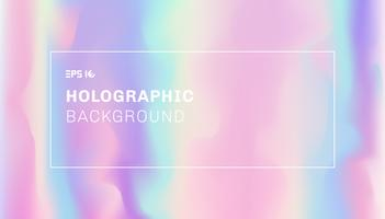 Abstrakt slätvåg och holografisk bakgrund.