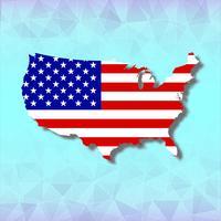 Unabhängigkeitstag 4. Juli Amerika vektor