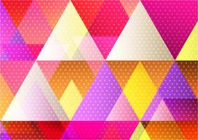 Mehrfarbiger geometrischer abstrakter Hintergrund für Ihre Fahnenwebsite oder Geschäft, modernes Design der Vektor-Illustration