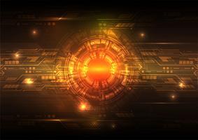 Digitaltechnik-Zusammenfassungshintergrundkonzept, Vektorillustration