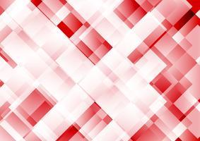 Geometrisk röd färg abstrakt bakgrund vektor illustration EPS 10