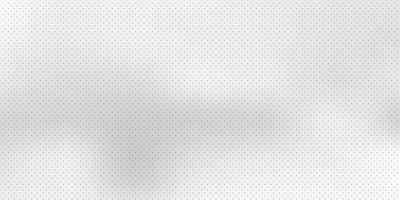 Abstrakt vit suddig bakgrund med svart prickmönster vektor