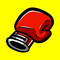 Boxningshandskar Stansning vektor