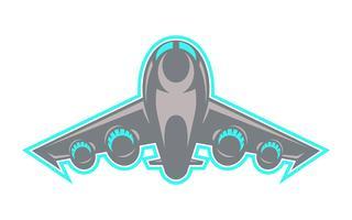 Flygplan flygande vektor ikon