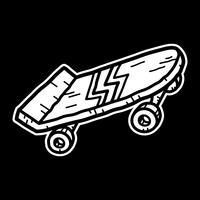 Skateboard vektor