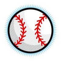 Baseball-Vektor-Symbol vektor