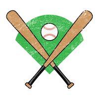 Baseballschläger vektor