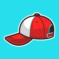 Baseball Kappe vektor