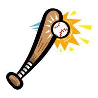 Basebollträ vektor