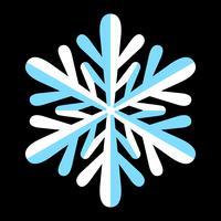 Schneeflocke Vektor Icon